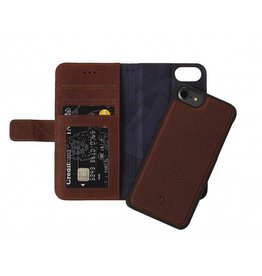 Decoded Decoded 2-in-1 Wallet Case for iPhone 8/7/6 - Cinnamon Brown