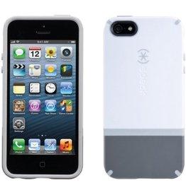 Speck Speck Candyshell Flip for iPhone 5 / 5s/ SE - White / Dark Gray / Light Gray
