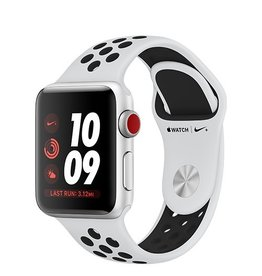 Apple Apple Watch Nike+ GPS + Cellular 38mm Silver Aluminium Case with Pure Platinum/Black Nike Sport Band
