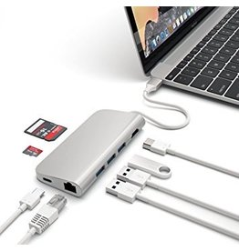 Satechi Satechi USB-C Multiport Adapter - Silver