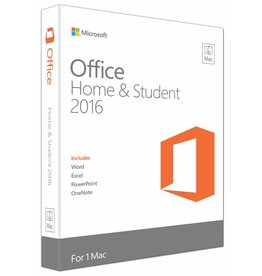 Microsoft Microsoft Office MAC Home and Student 2016 English Medialess - 1 Mac