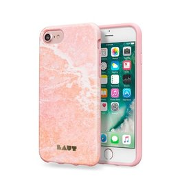 Laut Laut Huex Elements Case for iPhone 8/7/6 - Pink Marble