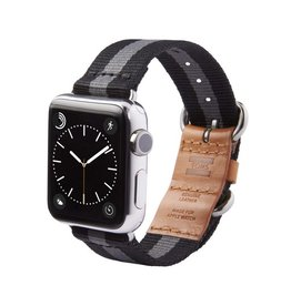 TOMS TOMS Apple Watch 38mm Utility Band - Black Stripe