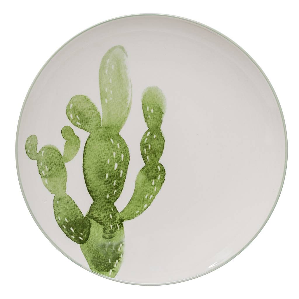 Design Home Cactus Large Plate
