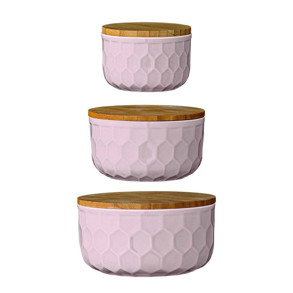 Design Home Round Pink Jar – medium