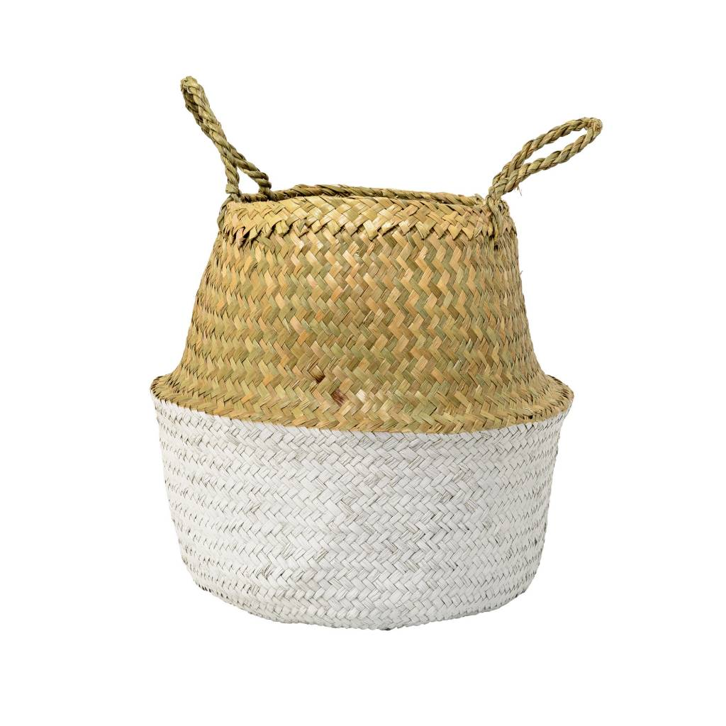 Design Home Small White Basket