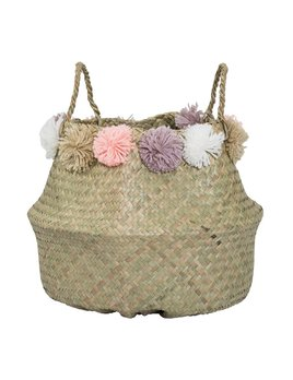 Design Home Pompon Small Basket