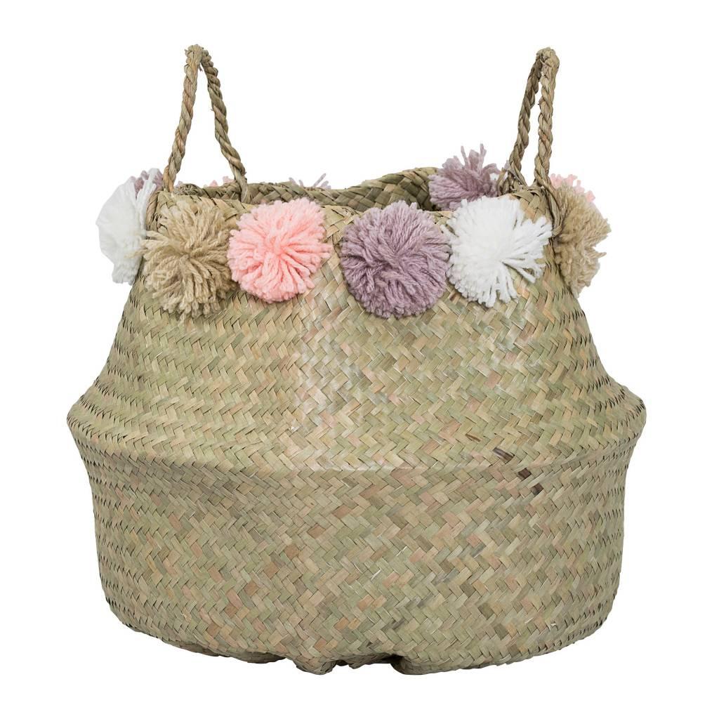 Design Home Pompon Small Basket