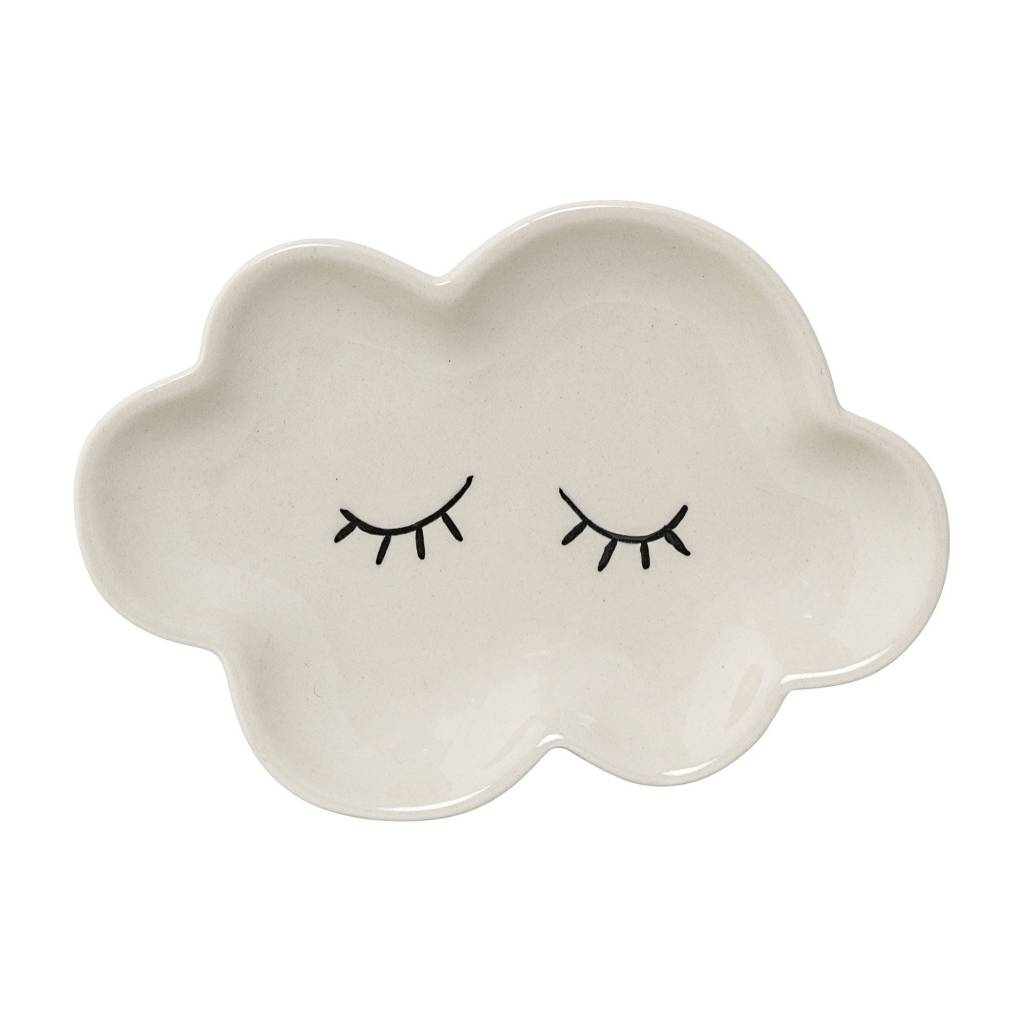 Design Home White Cloud Plate