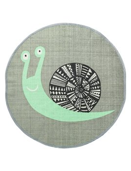 Design Home Tapis Circulaire Escargot