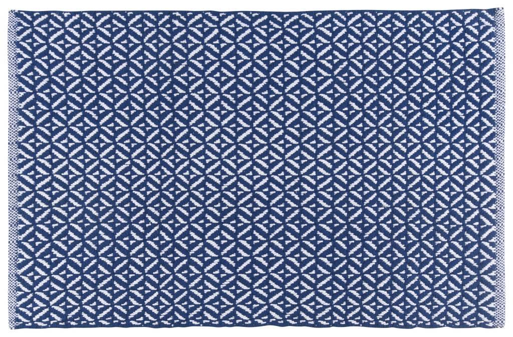 Indigo Diamond Doormat