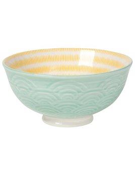 Waves Small Bowl Aqua