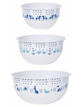 Meadowland Mix and Serve Bowls  Set of 3