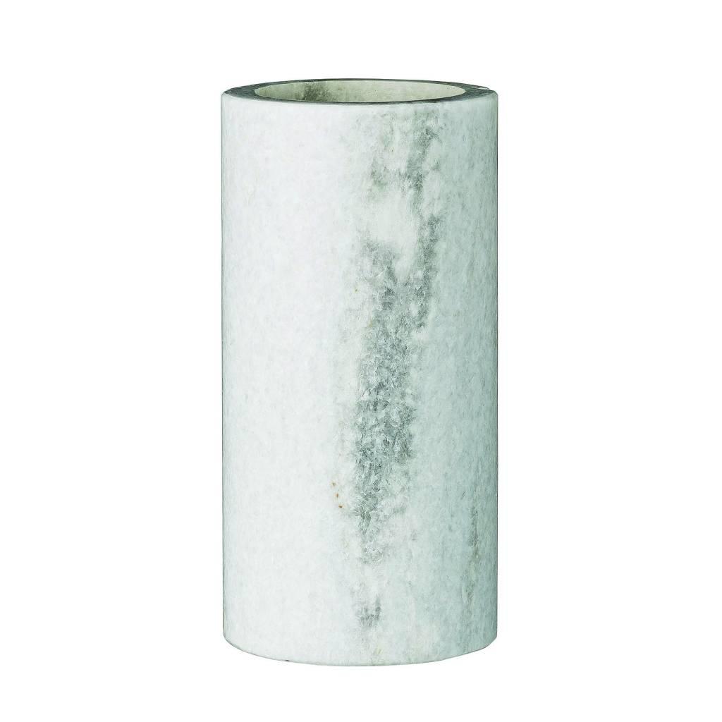 Bloomingville Vase Tube Marbre