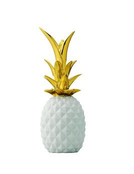 Bloomingville White Gold Pineapple