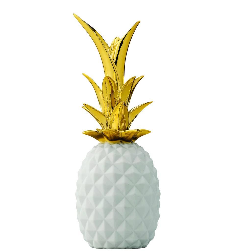 Bloomingville White Gold Pineapple
