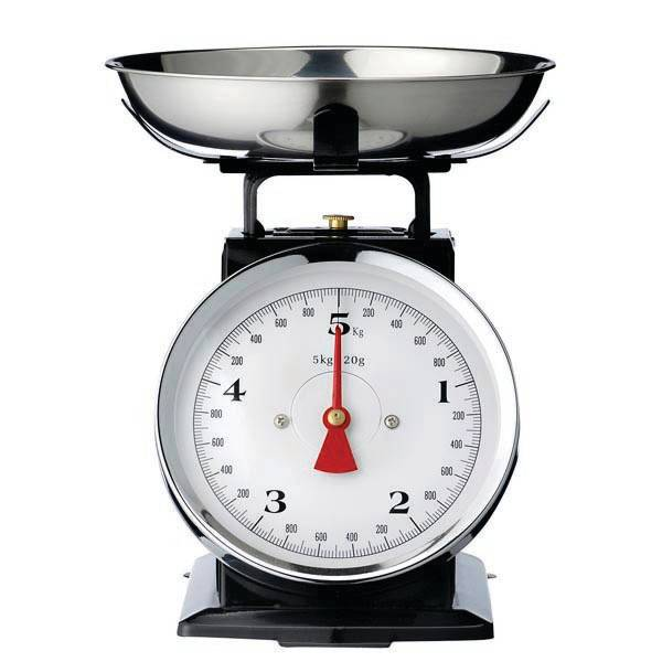 Bloomingville Black kitchen Scale