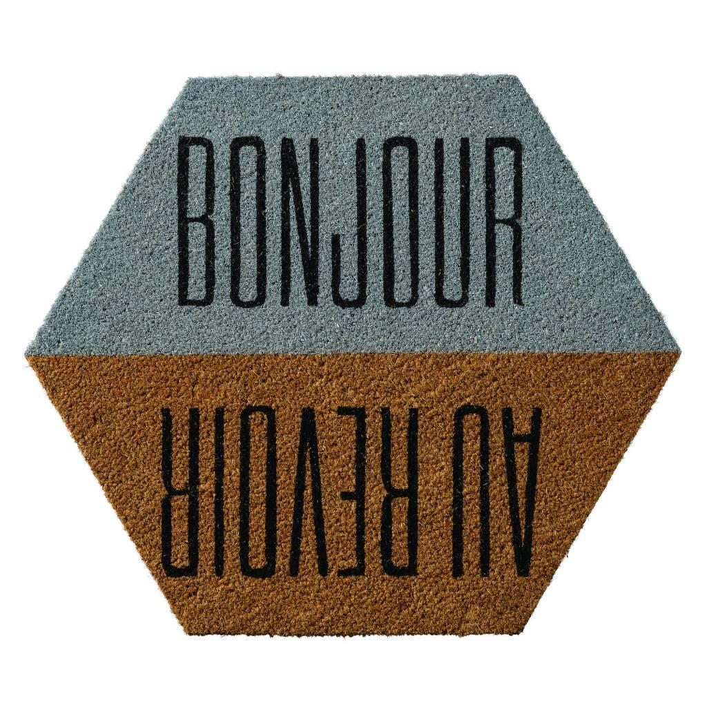 Bloomingville Tapis Bonjour Au Revoir