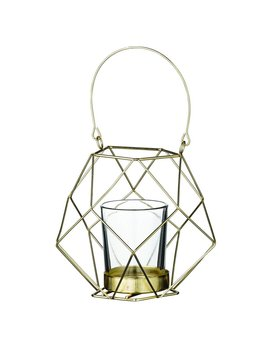 Bloomingville Petit Chandelier Geo Or