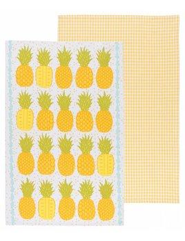Danica/Now Ensemble 2 Linges Vaisselle Ananas