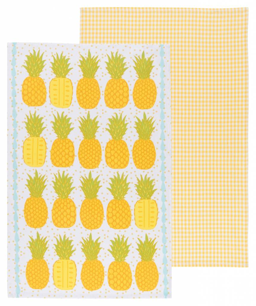 Danica/Now Set of 2 Pineapplle Dishclothes