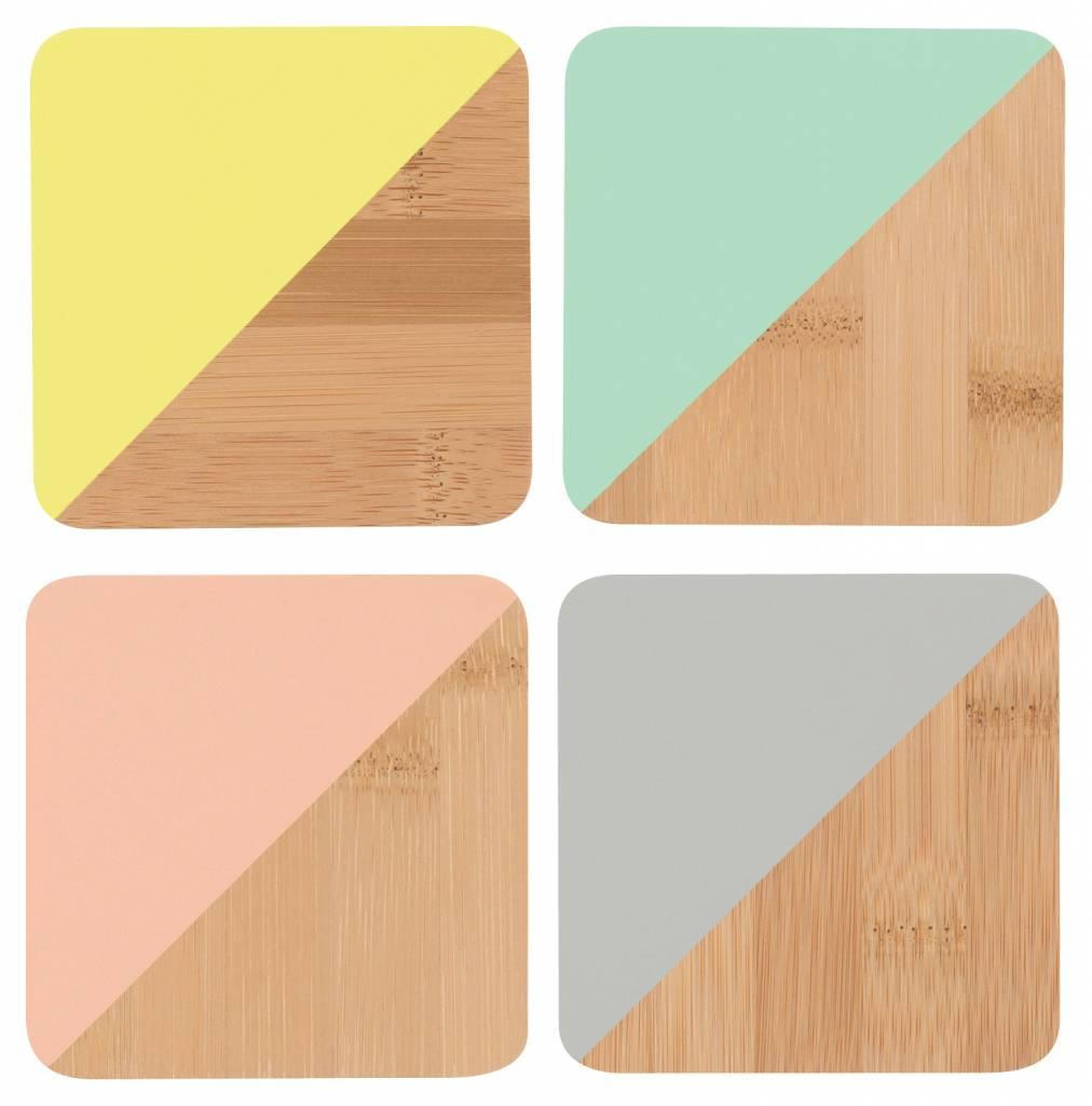 Danica/Now Multicolor Coasters