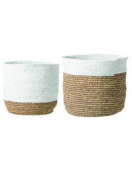 Bloomingville Raffia Tall Basket