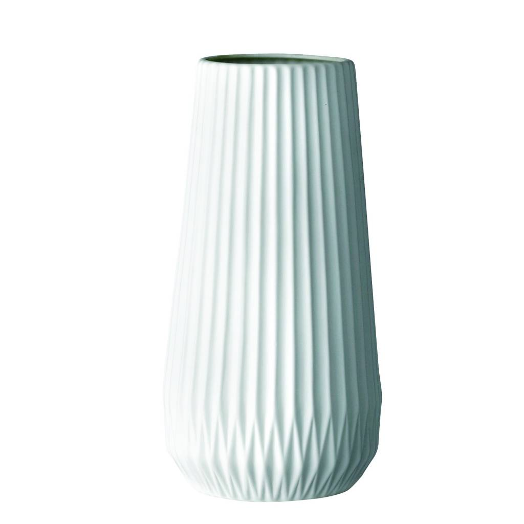 Bloomingville Grand Vase Flûte Blanc