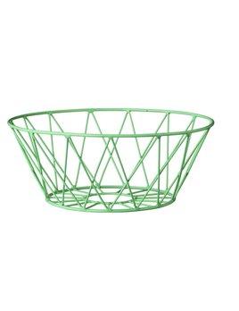 Bloomingville Round Mint Basket