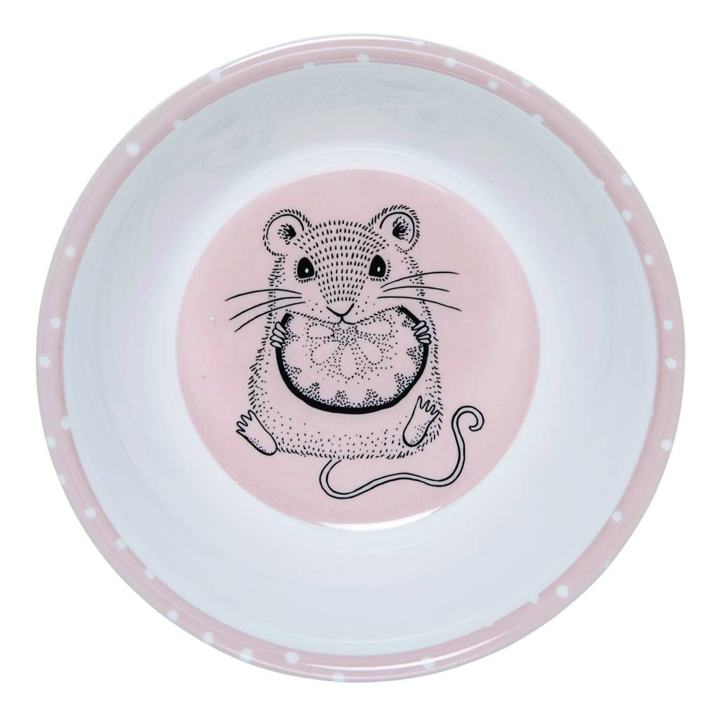 Bloomingville Pink Mouse Small bowl