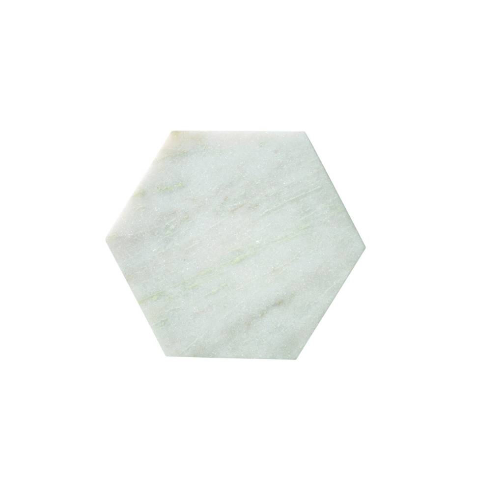 Bloomingville Petite Planche Marbre Hexagone