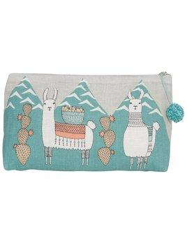 Danica/Now Big zip pouch Lama