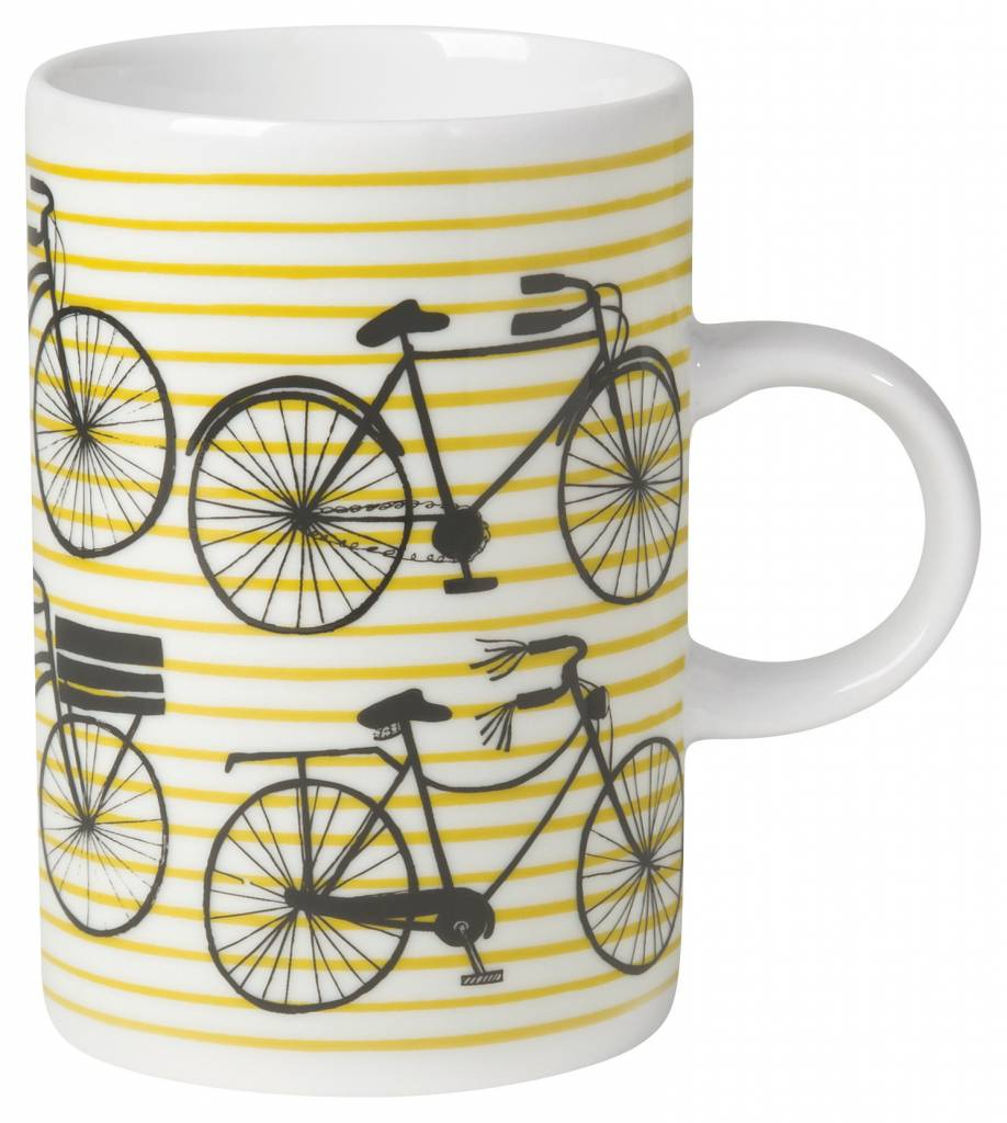Danica/Now Striped Bike Mug