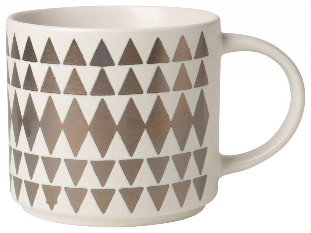 Danica/Now Geo Bronze Mug