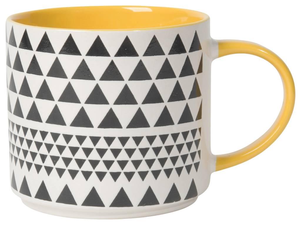 Danica/Now Geo Yellow Mug