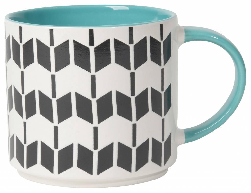 Danica/Now Geo Turquoise Mug