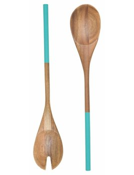 Danica/Now Salad Servers S/2 Turquoise