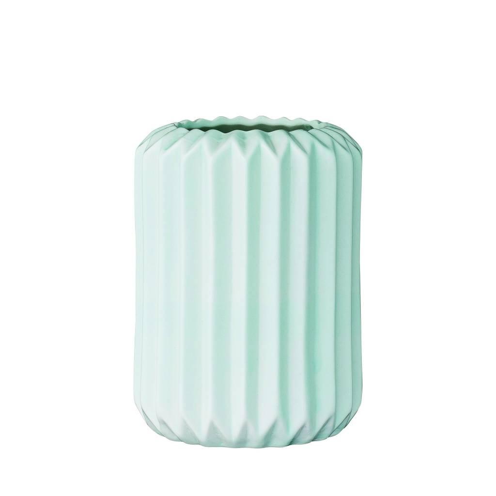 Bloomingville Vase Flûte Turquoise