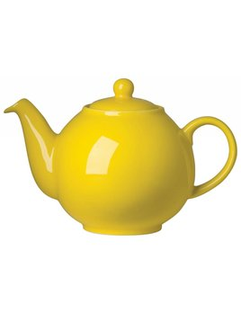 Yellow 6-cup Tea Pot
