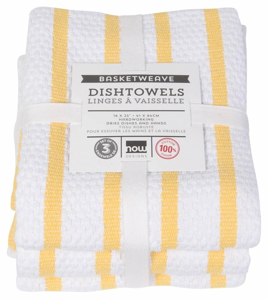 Danica/Now Lemon 3-dishcloth set