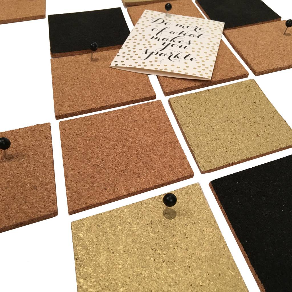 BSide Black Cork Board