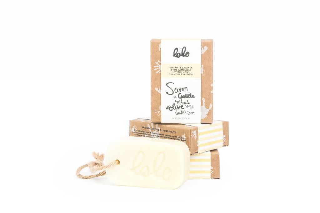 Lolo et moi Lavender and Chamomile Bar Soap