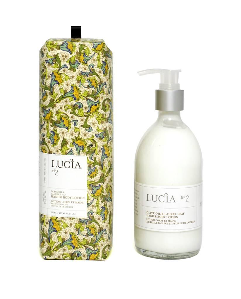 Laurel Leaf and Olive Lotion