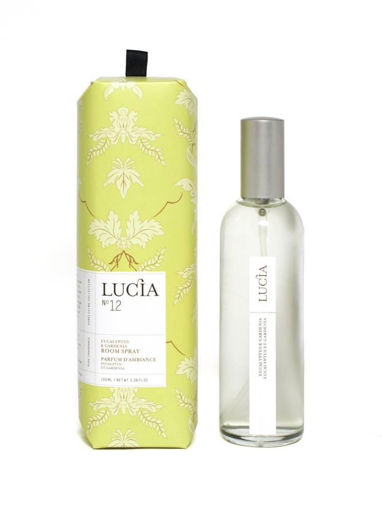 Parfum d'ambiance Eucalyptus et Gardénia