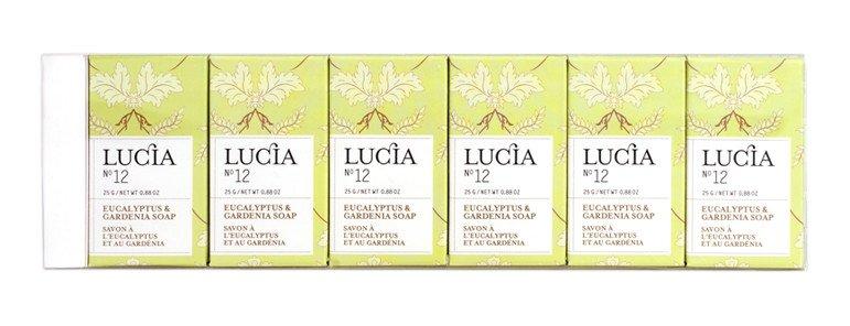 6 Soap Bars Gift Set Eucalyptus & Gardenia