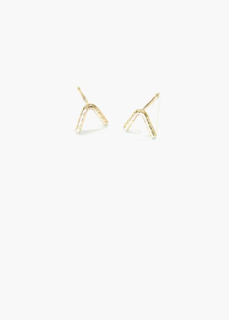 Hart and Stone Bow Earrings