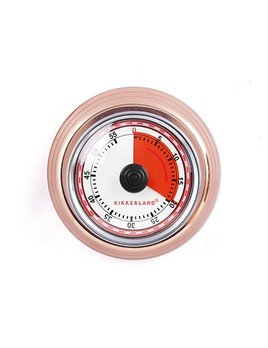 Kikkerland Copper Kitchen Timer