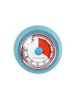 Kikkerland Blue Kitchen Timer
