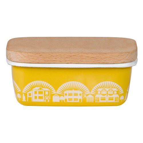 Wild&Wolf Enamel Mustard Butter Dish