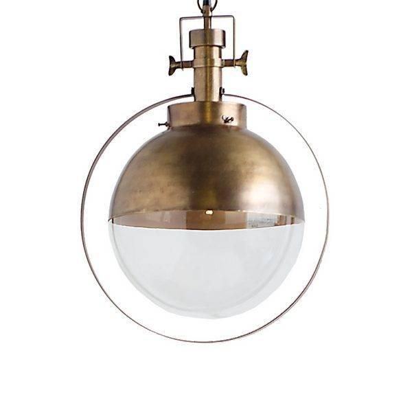 Mercana Leighton glass fixture